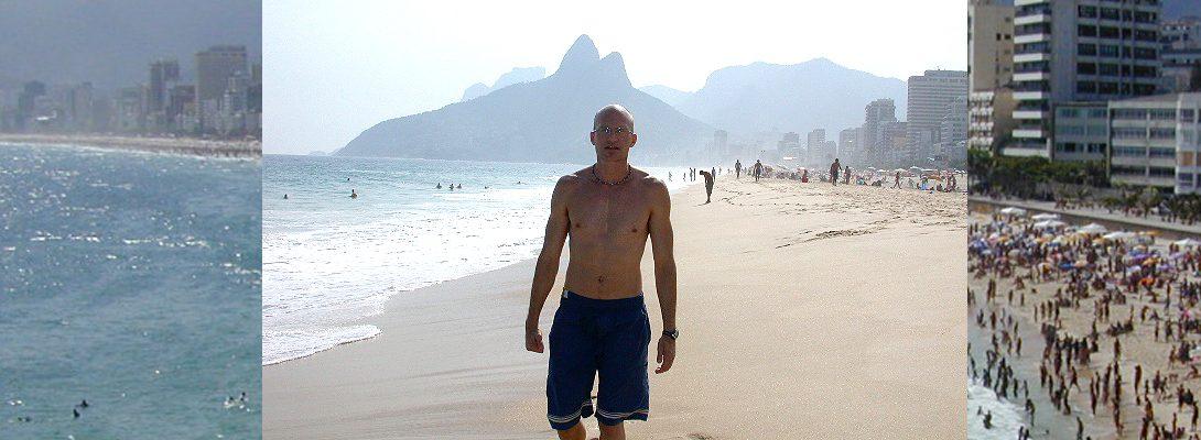 Lee Chapman in Rio de Janeiro Brazil
